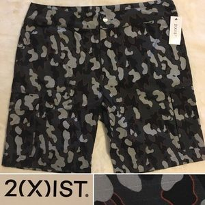 2xist NWT camo shorts military camouflage printS M